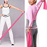 Slendima High Elasticity Rubber Yoga Band Strap for Daily Stretch,Resistance Training Exercise Fitness Gym Pilates Tools