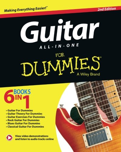 Guitar For Dummies, Book and Online Video and Audio Instruction