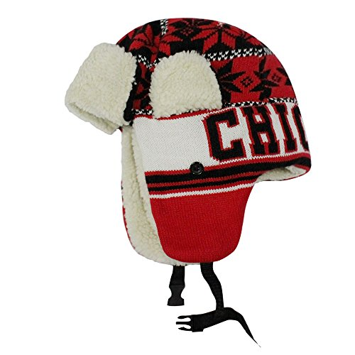 Chicago City Team Cap Hats Beanie Snapback (Trapper 1)