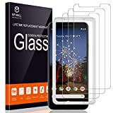 MP-MALL [3-Pack] Screen Protector for Google Pixel 3a XL, [Easy Installation] [Case Friendly] Tempered Glass (Not Fits for Google Pixel 3a)