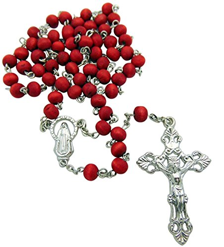 Rosary Rose (7mm Rose Scented Wood Rosary)