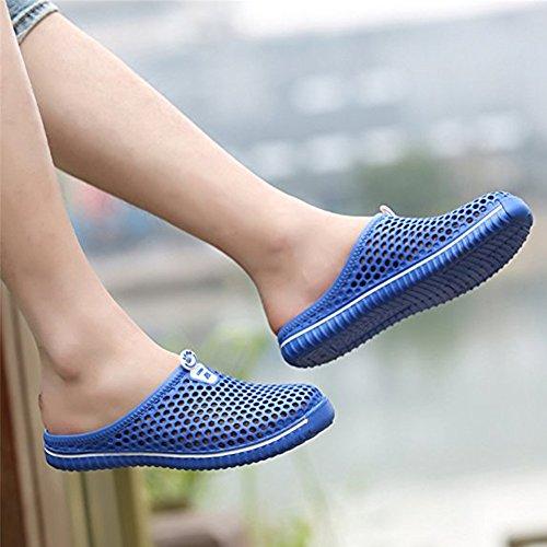 Femme Bleu pour Femme Mules Largeshop Largeshop Mules pour qYg0qO7