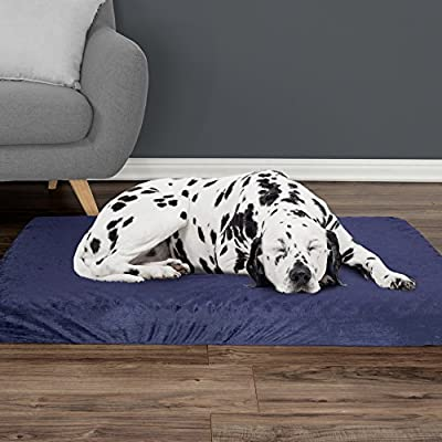 Orthopedic Pet Bed - Egg Crate and Memory Foam with Washable Cover