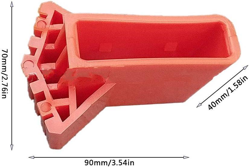 2 Stück Leiter Gummifüße Fuß Leiterschuh Gummi Traverse Kappe Anti-Rutsch Ersatz