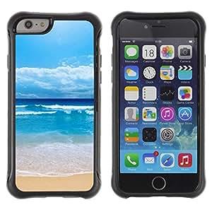 LASTONE PHONE CASE / Suave Silicona Caso Carcasa de Caucho Funda para Apple Iphone 6 / Shuitianyise