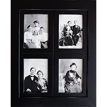 window pane collage picture frame 8x10 black multi photo frame with 4 four - Windowpane Picture Frame