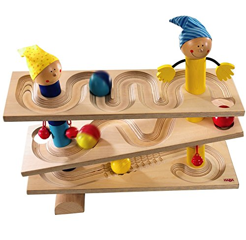 Wooden Ball Track - 1
