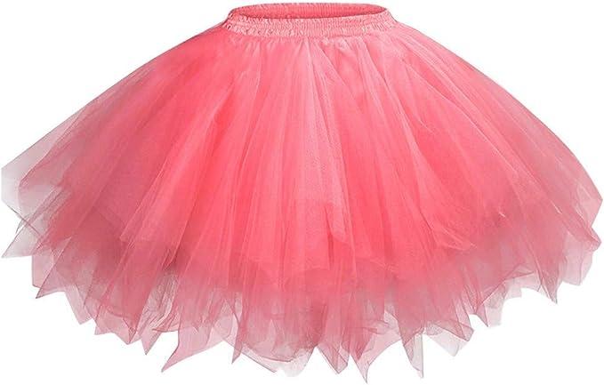 Xmiral Donna Tutu Vintage Ballerina Gonna Cosplay Sottogonne