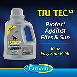 Farnam Tri-Tec 14 Fly Repellent, 50 fl oz Easy Pour Spout