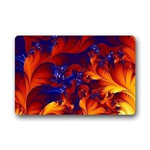 Custom Fashion se puede lavar a máquina Felpudo Abstract Leaf arte personalizado Felpudo