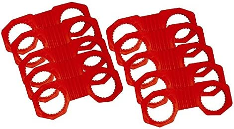 AME 62600-10 10 Pack of Zafety Lug Lock 3.5 x 33mm 300 Degree Orange 10 Pack