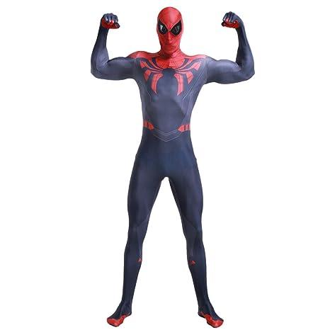 FHTD Disfraz de Spiderman Disfraz de Marvel Hero Superior Spider ...