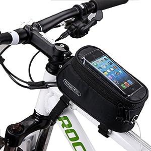 DCCN Fahrradtasche Handy Fahrrad Rahmentasche Oberrohrtasche Fahrrad Handy...