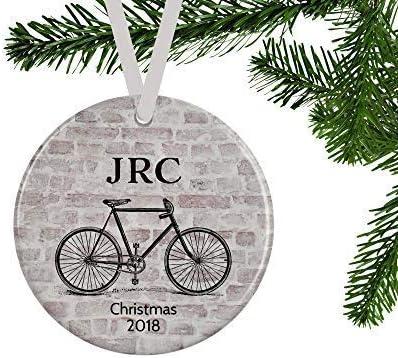 ymot101 - Adorno de Bicicleta para él, diseño de Navidad, Regalo ...