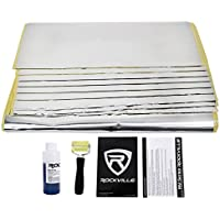 Rockville RM36 Full Trunk+2-Door Sound Deadening Car Audio Kit + Dynamat Sample