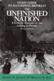 The Unfinished Nation Combined Edition : A Concise History of the American People, Brinkley, Alan, 0070151059