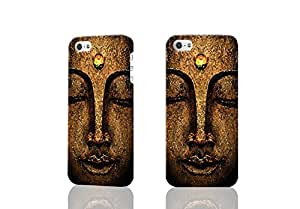 Buddha Face 3D Rough Case Skin, fashion design image custom , durable hard 3D case cover for iPhone 5C , Case New Design By Codystore