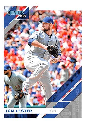 Baseball MLB 2019 Donruss #108 Jon Lester NM-MT ()