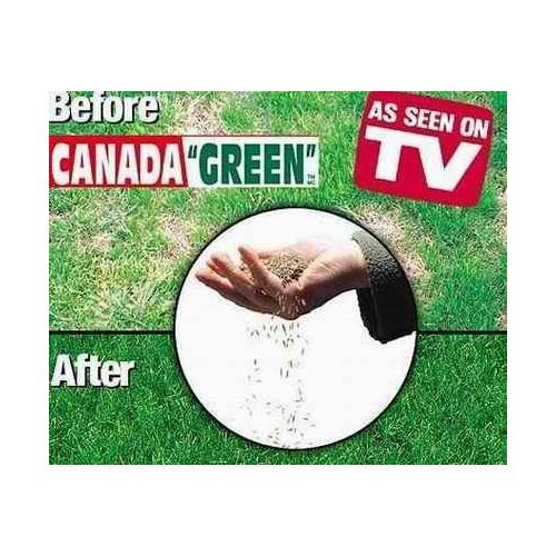 Canada Green Grass Seed - 6 Pound Bag (6 Lb Weed)