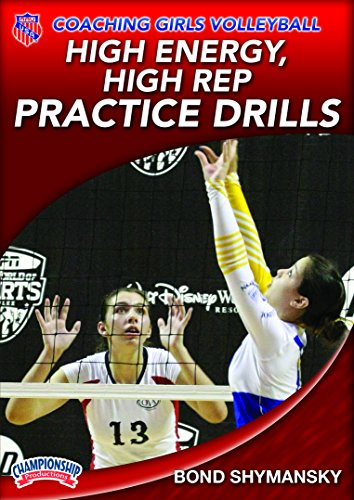 AAU Coaching Girls Volleyball: High Energy, High Rep Practice Drills - Volleyball Coaching Dvd