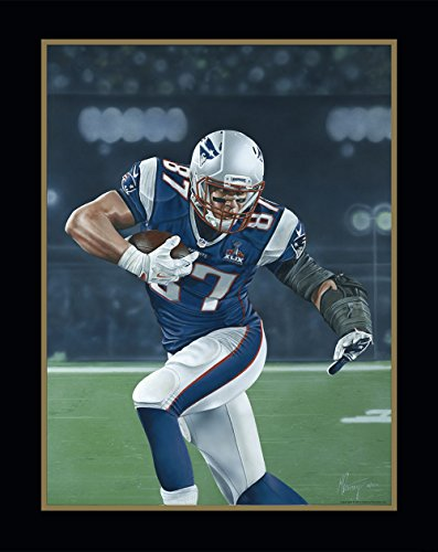 Rob Gronkowski New England Patriots Poster Patriots Rob