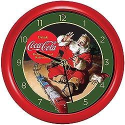Coca-Cola Christmas Carol Clock