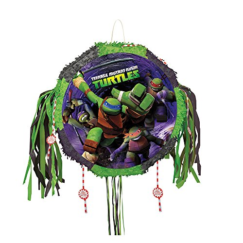 Teenage Mutant Ninja Turtles Pinata, Pull String (Teenage Mutant Ninja Turtles Halloween)