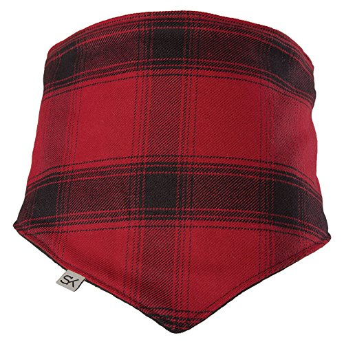 Stormy Kromer Female, Male Outsider Bandana Red/Black Plaid (Outsider Flannel)