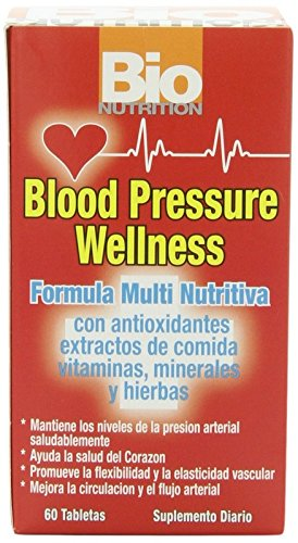Bio Nutrition Blood Pressure Wellness Tabs, 60 Count