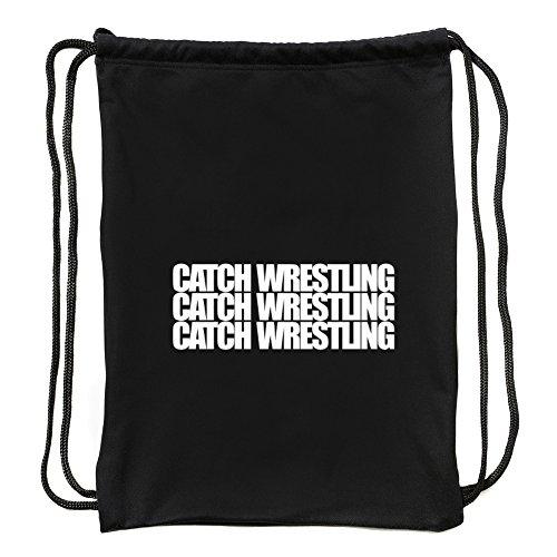 Eddany Catch Wrestling three words Sport Bag by Eddany