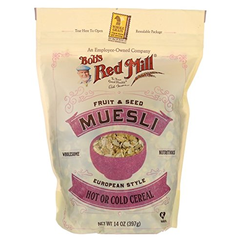 Bobs Red Mill Cereal Muesli Fruit Seed, 14 oz