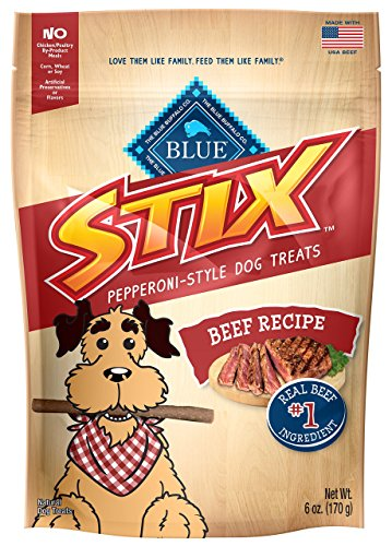 BLUE Stix Beef & Potato Dog Treats 6-oz