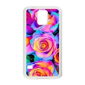 SamSung Galaxy S5 G9006V Elegant Flower Phone Back Case DIY Art Print Design Hard Shell Protection FG076739