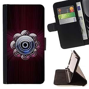 Momo Phone Case / Flip Funda de Cuero Case Cover - Música Dj Sound Castaño Disco - Samsung Galaxy S6 Active G890A