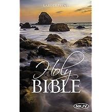 The NKJV, Holy Bible, Larger Print, Paperback