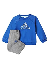 adidas Kid's Badge of Sport Athletic Jogger Set