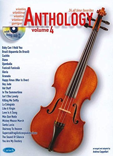 Cappellari Andrea Anthology Violin Vol 4 Bk/Cd pdf