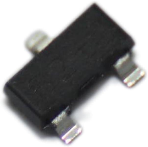 10x 2N7002-YAN Transistor N-MOSFET TRENCH POWER MV unipolar 60V 0.272A