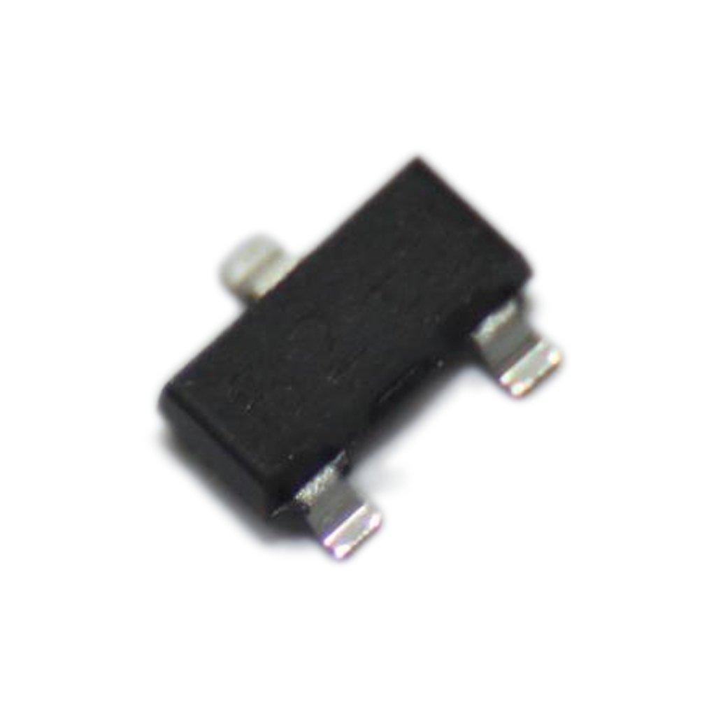 50x 2N7002 Transistor N-MOSFET unipolar 60V 800mA 200mW SOT23 _MILO_50CM_X_12CM_300DPI_BLACK_COPY