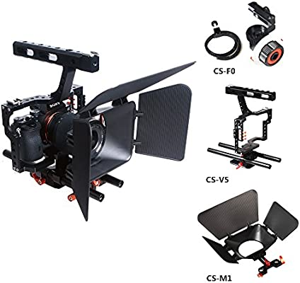 Commlite Comstar aluminio aleación cámara película película hacer ...