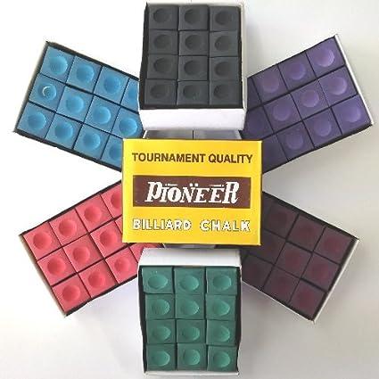 Pioneer Snooker or Pool Cue Chalk 1 Gross 144 Pack