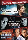 Action-Packed Triple Feature (88 Minutes, Desperate Measures, Arlington Road)