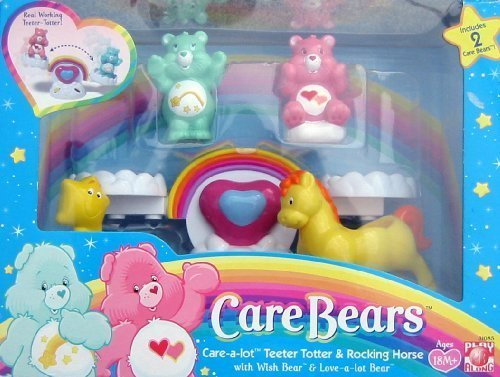 Care Bears Care-a-lot Teeter Totter & Rocking Horse Bears Seesaw