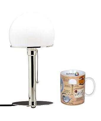 TECNOLUMEN Wilhelm Wagenfeld Bauhaus lámpara de mesa lámpara de mesa lámpara de escritorio Juego de Bauhaus