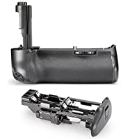 Neewer® Professional Vertical Battery Grip( Replacement for Canon BG-E11) Work with 1 or 2 Pieces LP-E6 Battery or 6 Pieces AA Batteries for Canon EOS 5D Mark III / 5DS / 5DSR Digital SLR Cameras