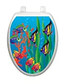 Under The Sea TT-1800-O Elongated Beach Theme Cover Bathroom