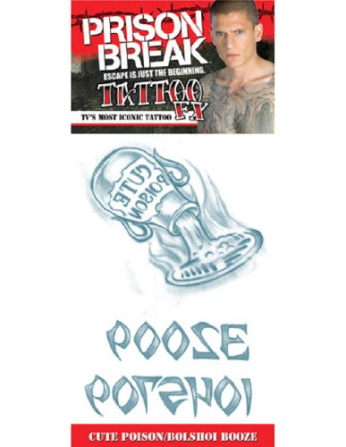 UPC 741545022521, Prison Break Cute Poison and Bolshoi Booze Tattoo
