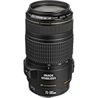 Canon EF 70-300mm f/4-5.6 IS USM Lens for Canon EOS SLR Cameras International Version (No warranty)