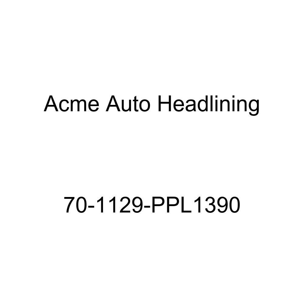 Acme Auto Headlining 70-1129-PPL1390 Maroon Replacement Headliner 1970 Buick Sportwagon 4 Door Wagon