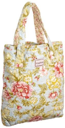 Ringarose Ipad/book Bag Summer Bloom, Damen Tablet-Tasche Light Blue